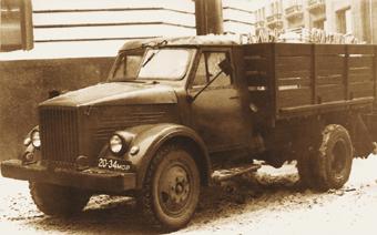 ГАЗ-51 с деревянной кабиной выпускался с 1946 по 1951 г.