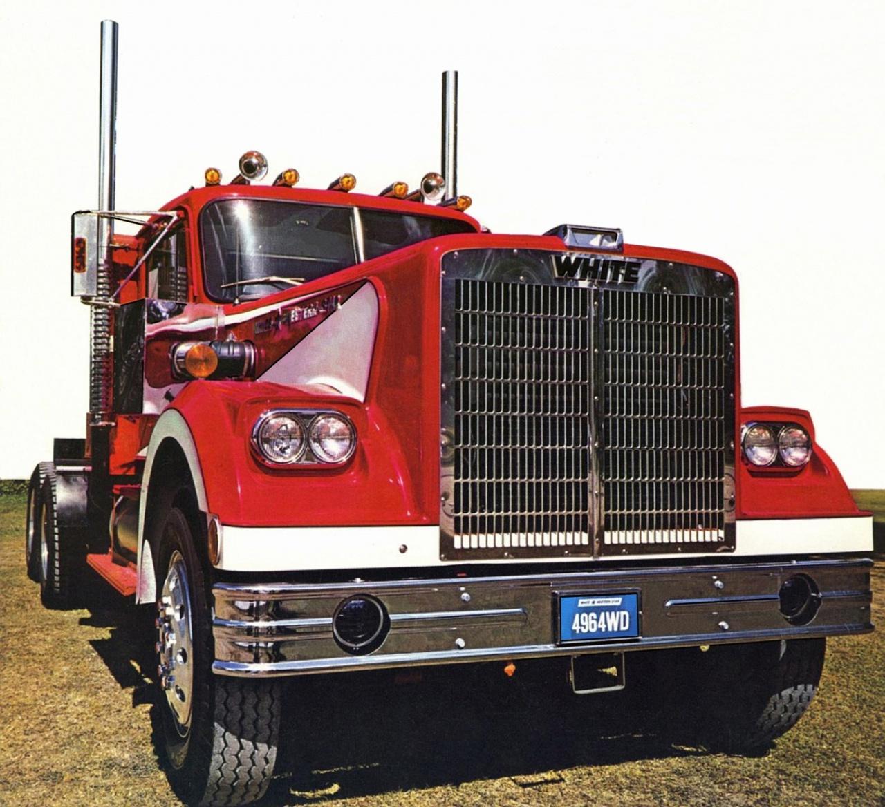 Первая модернизация семейства White-Western Star состоялась в 1971 году, доказательством чего стала модель 4964 WD.jpg