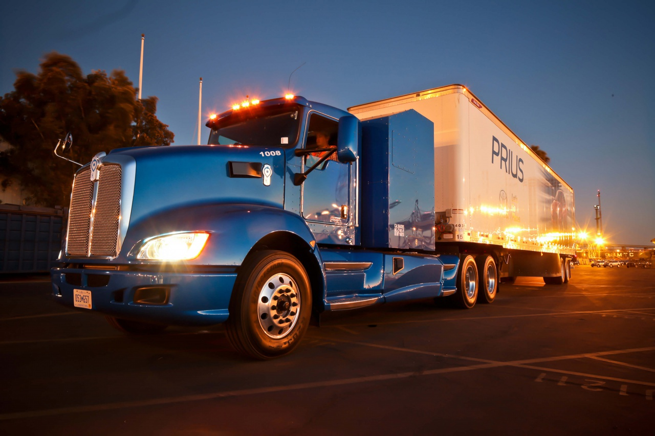 Toyota Fuel Cell Truck Semi
